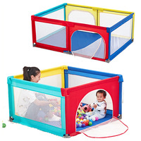 Baby Game Fence Portable Baby Playpen Crib Crawling Pad Toddler Game Fence Home Kids Safety Play Anti fall Playpen 0~5Y