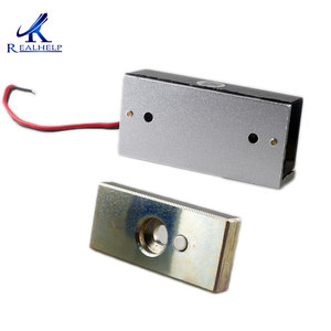 Image 4 - 60kg 100Lbs Force 12VDC Visible installation Cabinet Magnetic Lock  Mini File Cabinet Lock Small Maglock Single Door NC Access