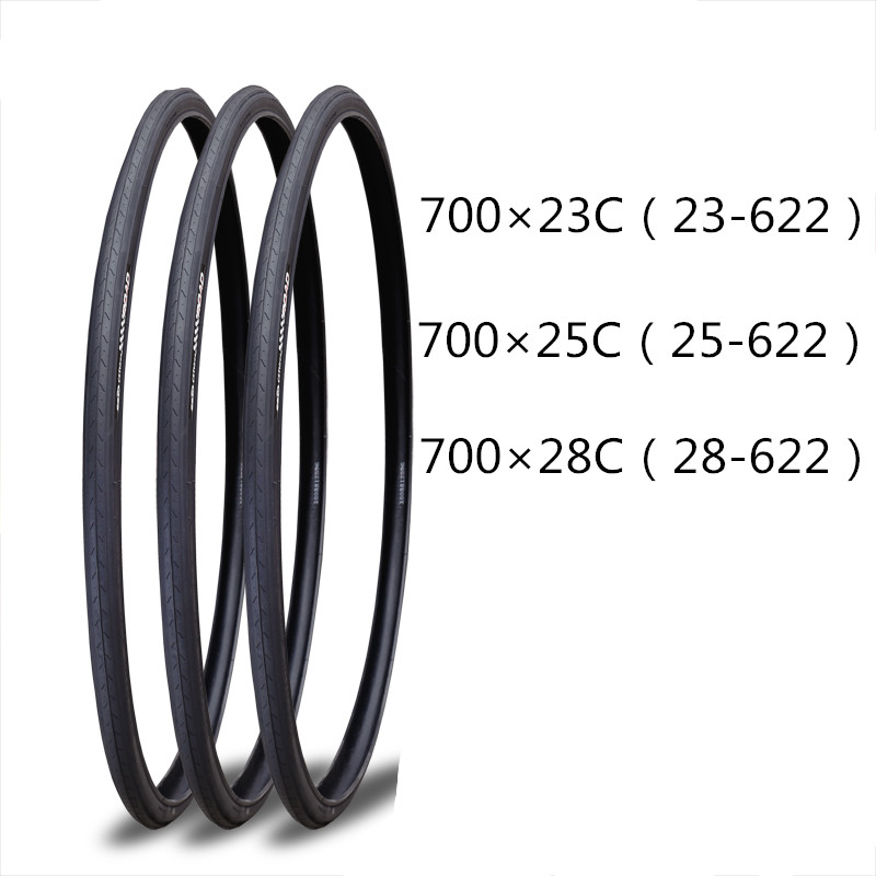 1pcs Bicycle Tyre 700*23C/25C/28C Road Bike 700X23C (23-622)/700X25C( 25-622 )/700X28C (28-622)