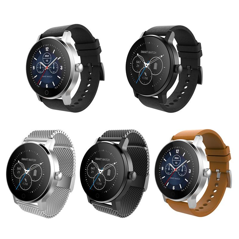 SMA-09 1.28 Inches Bluetooth Calling Music Playing Heart Rate Monitoring Smart Watch 11.11 Dropship sma r dual bluetooth smart watch
