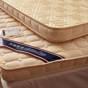 Image 5 - Luxury 100% Cotton Quilted Mattress filled massage thicken 7cm memory foam mattress