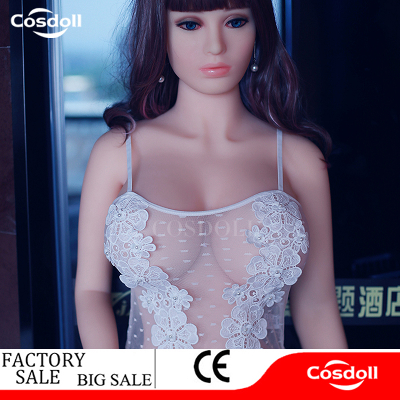 Cosdoll 158cm/165cm TPE Silicone <font><b>Sex</b></font> <font><b>Dolls</b></font> Metal Skeleton, Full Body Love <font><b>Dolls</b></font>, Japanese <font><b>3D</b></font> Vagina Sexy <font><b>Dolls</b></font> For Men Adult <font><b>Sex</b></font> image