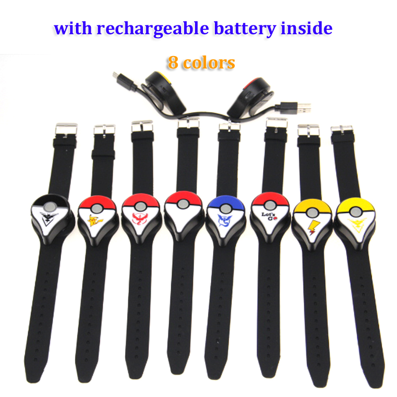 PokemonGo Plus Auto Catch For Nintend Bluetooth Bracelet Wristband Device With Rechargeable Battery
