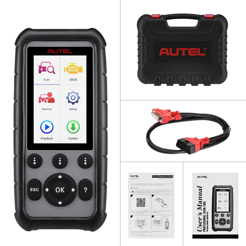 Image 5 - Autel MaxiDiag MD806 & MD806 Pro OBD2 Scanner Car Automotive Diagnostic Tool Auto Code Reader OBDII OBD Scan Tool pk MD802 MD805-in Code Readers & Scan Tools from Automobiles & Motorcycles