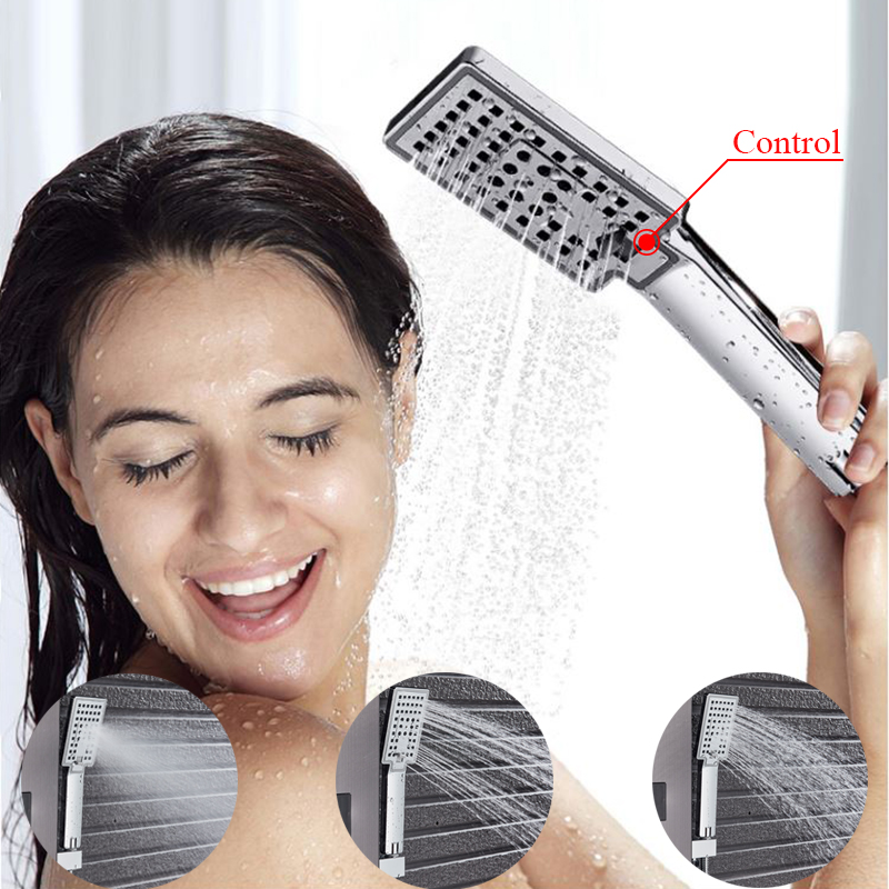 HTB1VkJNaa61gK0jSZFlq6xDKFXaB - Newly Luxury Black/Brushed Bathroom Shower Faucet LED Shower Panel Column