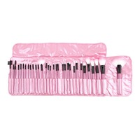 32 Pcs Woman S Pink Make Up Tools Pincel Maquiagem Professional Superior Soft Cosmetic Makeup Set