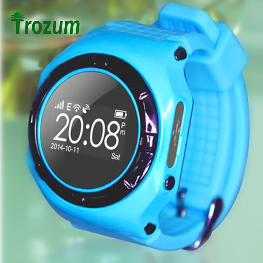 TROZUM New Children smart wear watch L20 phone Anti lost child positioning GSM cell phone GPS