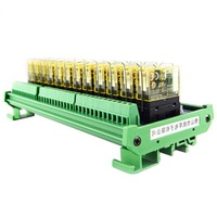 Relay single group module 12 way compatible NPN/PNP signal output PLC driver board control board