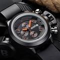 Топ люксового бренда мужчины спортивные часы мужской кварцевый хронограф 6 руки 24 ч. часы человек военный наручные часы Relogio Masculino
