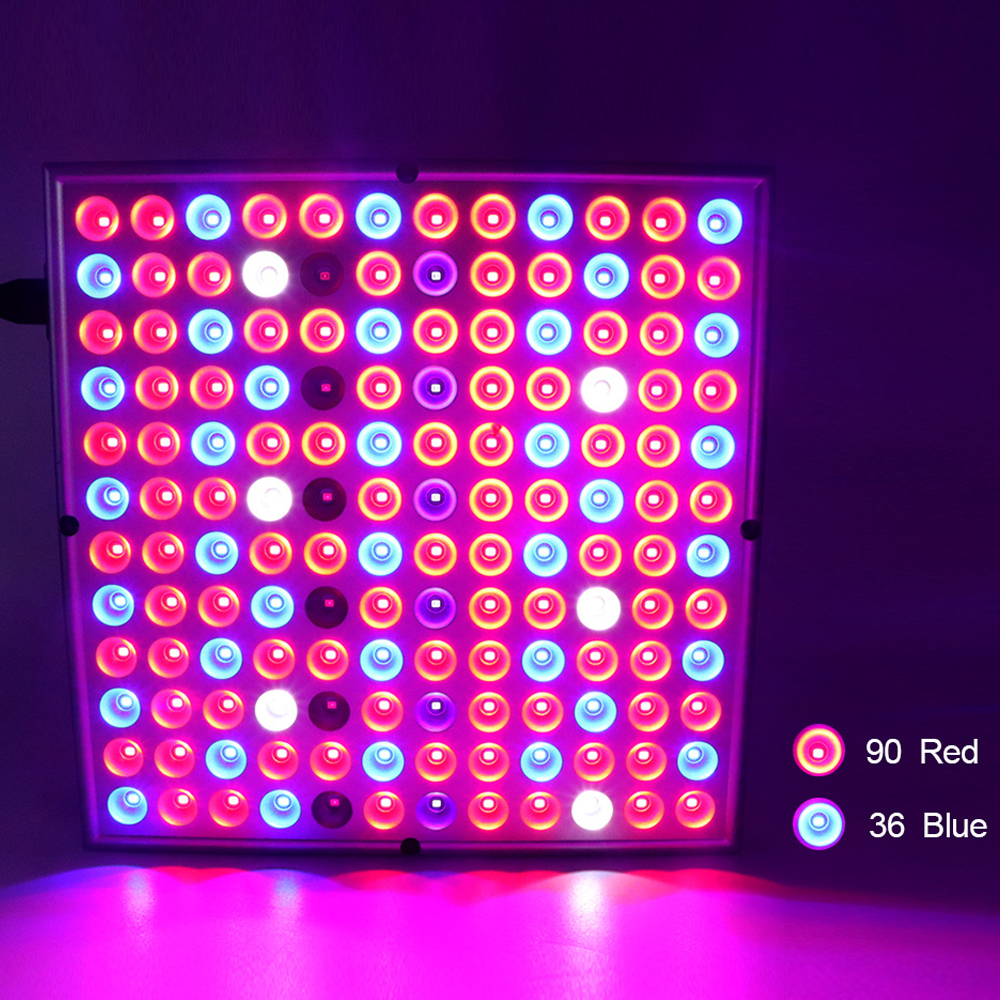 Full Spectrum Panel LED Grow Light 25W 45W AC85~265V Greenhouse Horticulture Grow Lamp for Indoor Plant Flowering Growth
