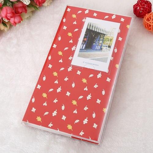 Горячая 84 кармана 1 шт. Мини пленка Instax Polaroid Альбом чехол для хранения фото модные домашние Семейные друзья сохранение памяти сувенир - Цвет: Leaf