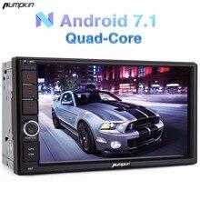 Тыквы 2 DIN 7 »Android 7.1 Univeral автомобильный Радио нет dvd-плеер GPS навигации Bluetooth Стерео Wi-Fi 3G быстрая загрузка головного устройства