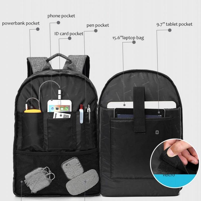 KINGSLONG Məktəb Sırt Laptop Çanta Sırt çantaları - Bel çantaları - Fotoqrafiya 4
