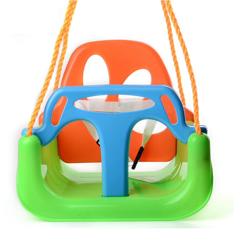 Jmjn Outdoor And Indoor Playground Swing Set Plastic Baby Swing