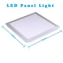 Led Panel Light 300×300 Square 20W LED Ceiling Fixtures LEDs Panel Lights 220V Indoor Led Lamp SMD 5730 Cold White