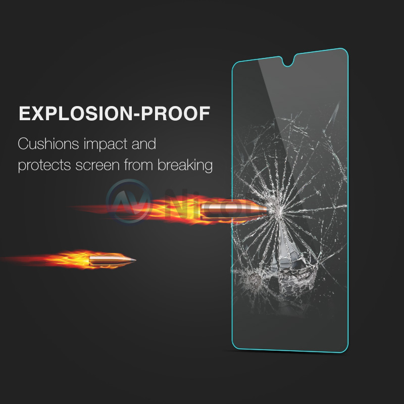 Nicotd 2.5D 9H Premium Tempered Glass For Huawei Mate 20 6.53 Inch Screen Protector Toughened Protective Film For Huawei Mate 20