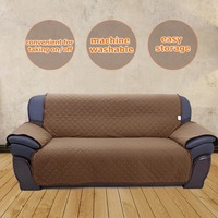 Double Side Sofa Cushion Pets Dogs Sofa Covers 3 Seats Removable Recliner Slipcovers Sofa Protection Cover Towel Pet Sofa Cover