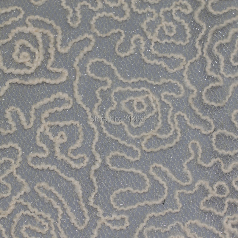 Pod15 29a Tulle Voile Textile Dribbling Embroidery Fabric