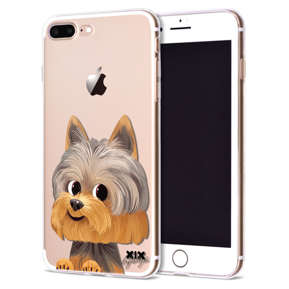 For Funda Iphone 5S Case 6 8 X Cute Dogs Soft Silicone TPU For Cover Iphone 6S Case New Arrivals For Coque Iphone 7 Case