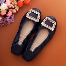 2017 autumn women genuine leather ballet flats casual shoes women pointed toe flats slip-on loafers ballerina flats