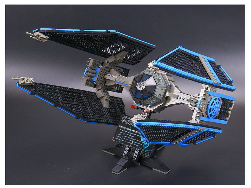 703Pcs LEPIN 05044 STAR WARS The TIE Interceptor Figure Blocks Compatible Legoe Construction Building Toys For Children конструктор lepin star plan истребитель tie interceptor 703 дет 05044