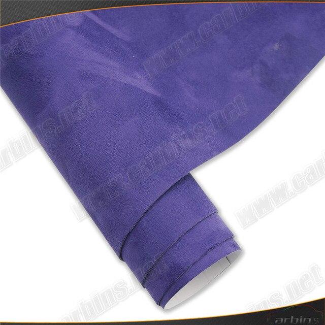 alcantara carbins 10 kleuren vinyl wrap folie met lijm alcantara sude voor auto interieur