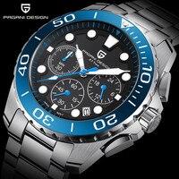PAGANI UNIQUE DESIGN Mens Watches Top Brand 2020 New Luxury Waterproof Sport Military Quartz Watch Men Clock Relogio Masculino