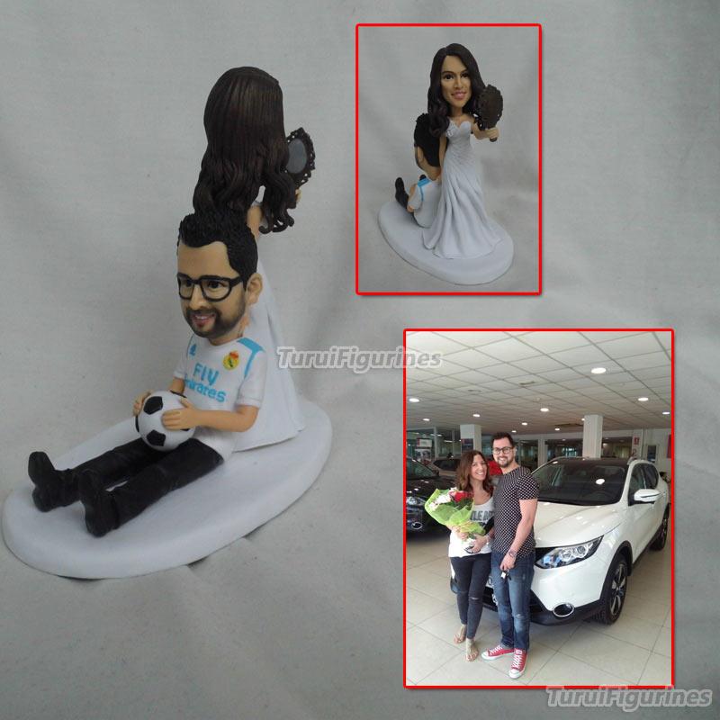 Custom Figurines wedding cake topper Birthday cake topper engagement topper custom cake topper custom figurine cake decoration