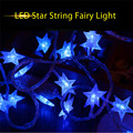 Premium 10M 100 LEDs 6W Star String Fairy Light 8 Modes Decoration Lamp holiday for Wedding Halloween Christmas Festival Party