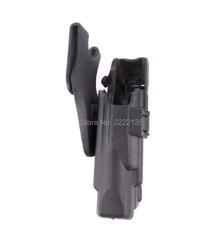 Coldre de Arma para Sig Trava de Segurança Coldre de Pistola Tático Rolamento Dever Cinto Serpa Lv3 P226 220 228 229 Mão Direita Militar Luz