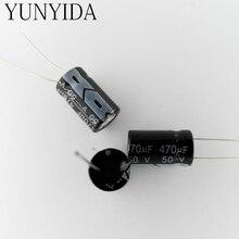 Алюминиевый электролитический конденсатор 50 в 470 мкФ 20 шт.