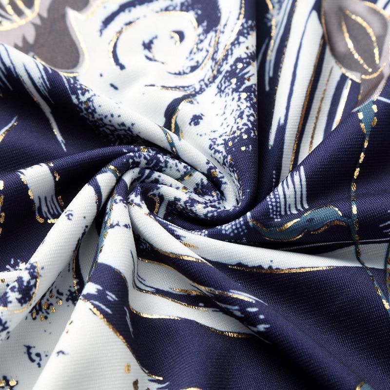 LONMMY PLUS SIZE 7XL Këmisha me fustane për burra Merkerizuara - Veshje për meshkuj - Foto 5