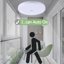 Led Lamp with Motion Sensor Light Night E27 Bulb  220V Smart PIR Ceiling 5W 12W 18W Hallway Bathroom Stair