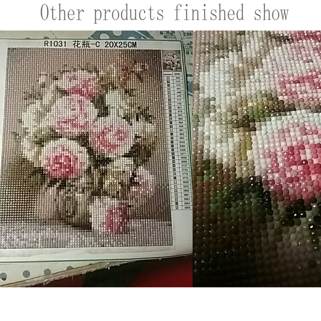 de7ac46785 5d diy Diamond Painting Cross Stitch Diamond Mosaic pattern 3D diamond  Embroidery Fruit still life picture Kitchen decoration