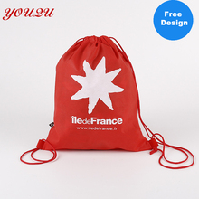 Custom Non Woven Fabric Buggy Bag Storage Bag Drawstring Bag costom logo accepted and free design