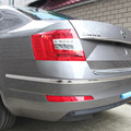 For  Octavia A5 A7 special rear bumper reflectors false lights bumper lights Decorative lights
