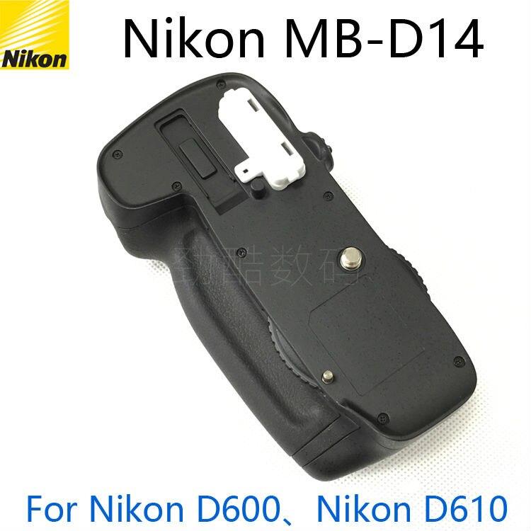 Prix pour Original nouveau MB-D14 Batterie Grip pour Nikon D600 D610 AA Batterie EN-EL15 titulaire MBD14 MB D14 caméra poignées livraison gratuite