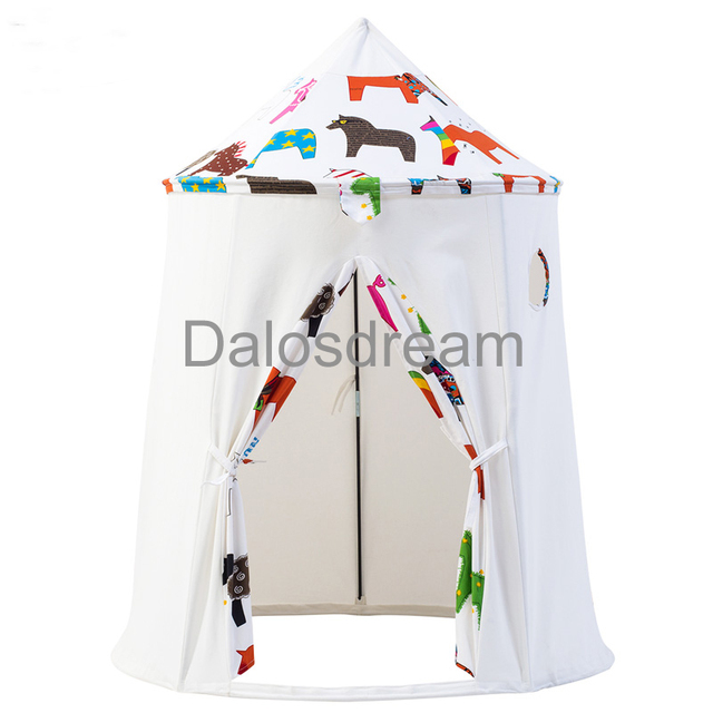 Dalos Dream Ger Kids Teepee Tents Horse Patterns For Kids Natural Material Teepee For Children Indoor  sc 1 st  AliExpress.com & Dalos Dream Ger Kids Teepee Tents Horse Patterns For Kids Natural ...