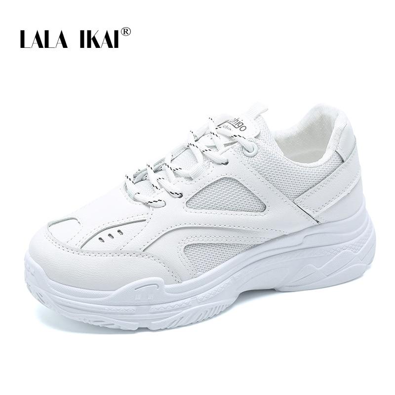 Apartamentos Lace-up Sapatos Burosu