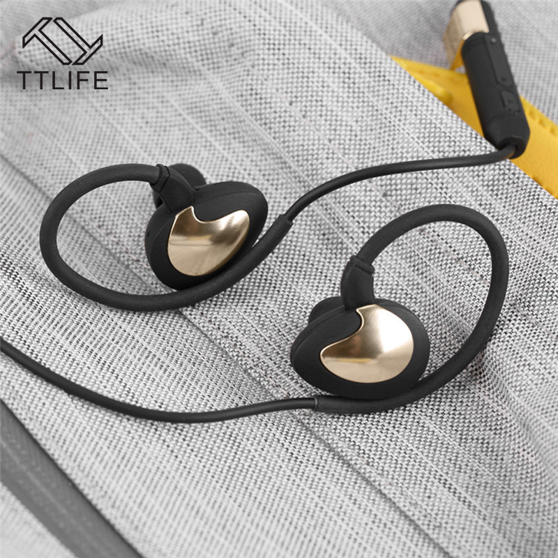 TTLIFE Bluetooth Earphone S1 Wireless Sports Waterproof Headset Music Stereo Headphones WIith Apt-x For Phone Xiaomi Original ttlife brand s33 noice canceling headset wireless bluetooth headphones stereo earphone microphone for ios android smartphones