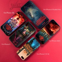 Coque Hot Film Stranger Things for Coque Case iPhone 5 5S SE thriller soft silicone Black TPU Case For Funda iPhone 5 5S SE Case sgp tough armor series air cushion case for iphone se 5s 5 black white