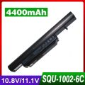 6 cells Laptop Battery SQU-1002 SQU-1003 SQU-1008 CQB912 CQB913 916T2134F For HASEE A560P K580P for HAIER T520 R410 R410U R410G