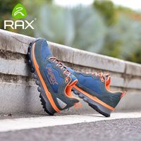 RAX Men's Outdoor Sneakers Waterproof Women Hiking Shoes Fast Walking Jogging Trekking Climbing Sport Sneakers Women Tourism