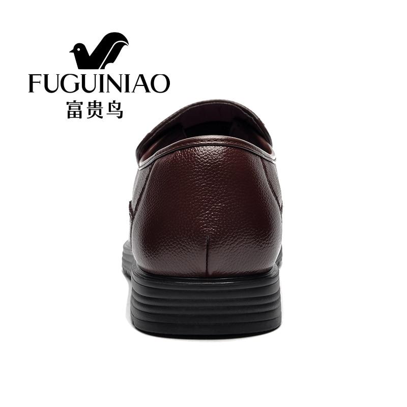 Moda Marca Luxo Casamento Black Genuíno Zapatos Masculinos Mocassins Da Negócios Vestir Apartamentos Couro Sapatos De Homens brown Masculino Casual Hombre Sapato Czwq008