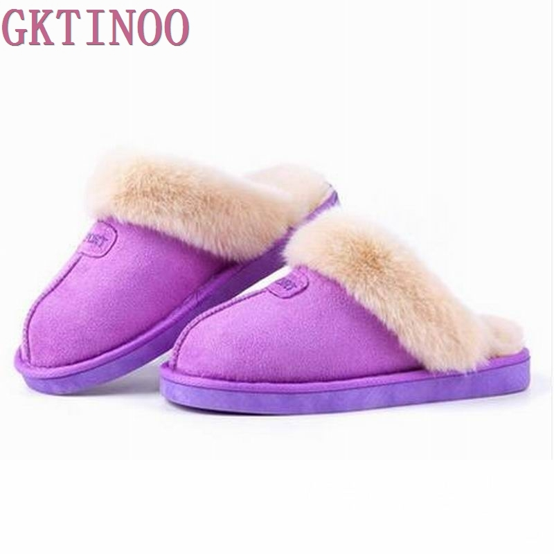 Plush Lovers Cotton-padded Slippers Winter Slippers Women and Men at Home Warm Shoe slippers lovers men Women thermal slippers men at arms