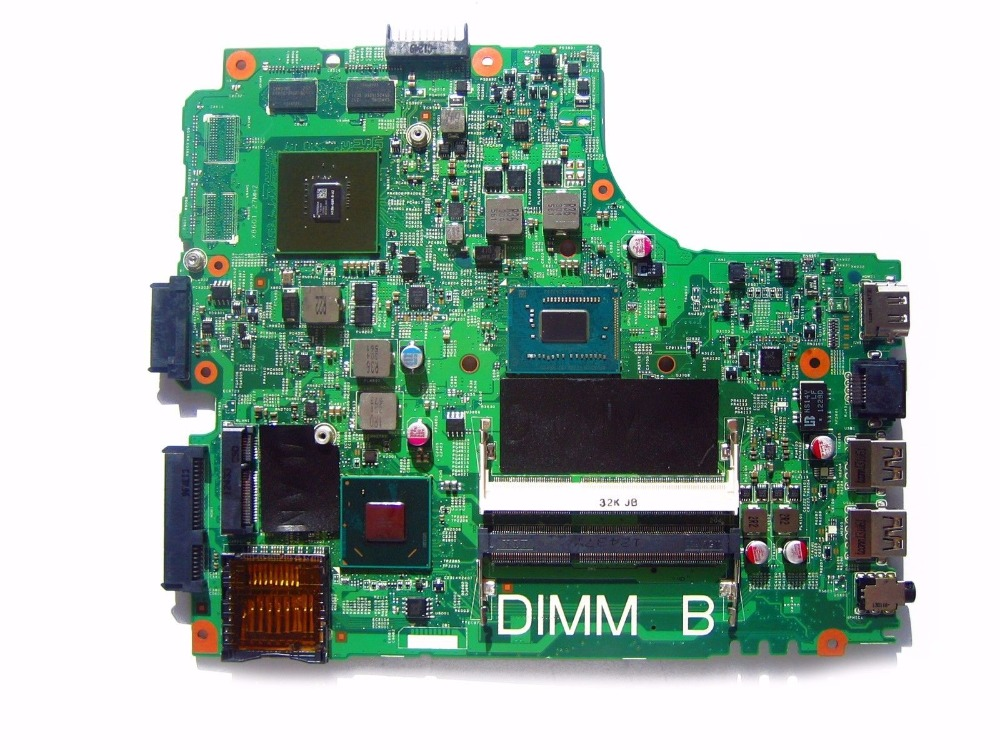 Laptop Motherboard Fit For DELL INSPIRON 2421 3421 5421 CN-08YF59 8YF59 i3-2365M mainboard 12204-1 100% working купить в Москве 2019