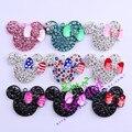 Random Choose Mix Lot 10Pcs/Lot Rhinestone Pendant Mouse Pendant For Kid DIY Jewelry Pendant For Holiday
