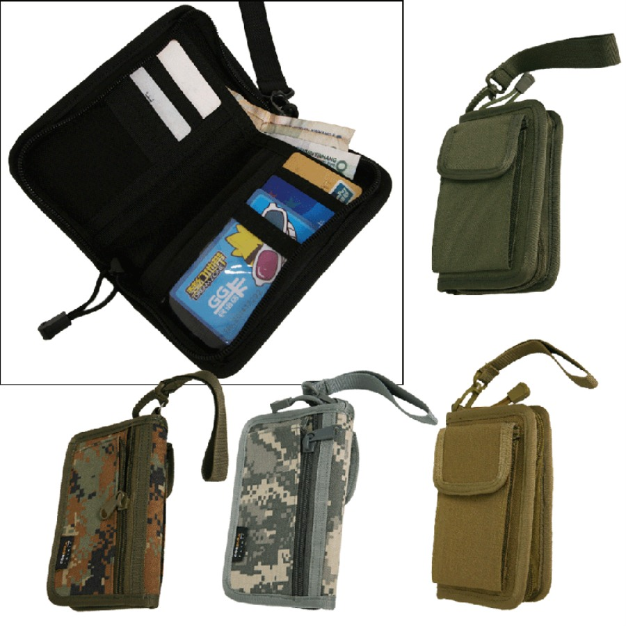 1000d Military Tactical Molle Pouch Wallet Pack Bag Army Hunting Bags Pack Outdoor Purse Tactical Wallet Accessories Comfortable And Easy To Wear