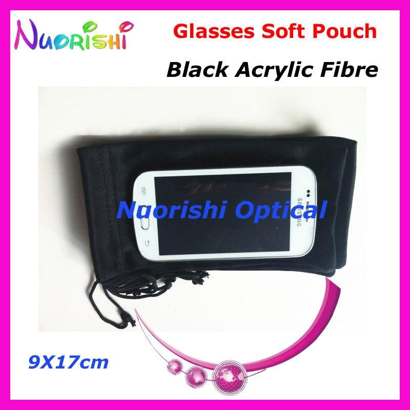 20/40/100 pcs Hitam Acrylic Serat Spectacle Sunglass Eyewear Kacamata - Aksesori pakaian - Foto 2