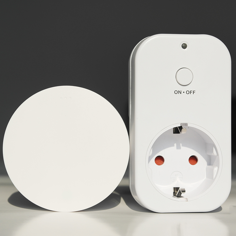 Smart home outlet Remote control wireless socket Electrical plugs sockets